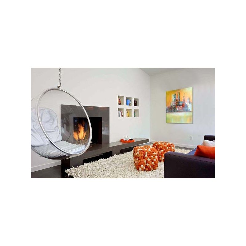 wandbilder abstrakt sky acryl struktur wandbilder. Black Bedroom Furniture Sets. Home Design Ideas