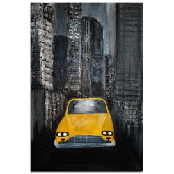 Wandbild Gold abstraktes Wandbild