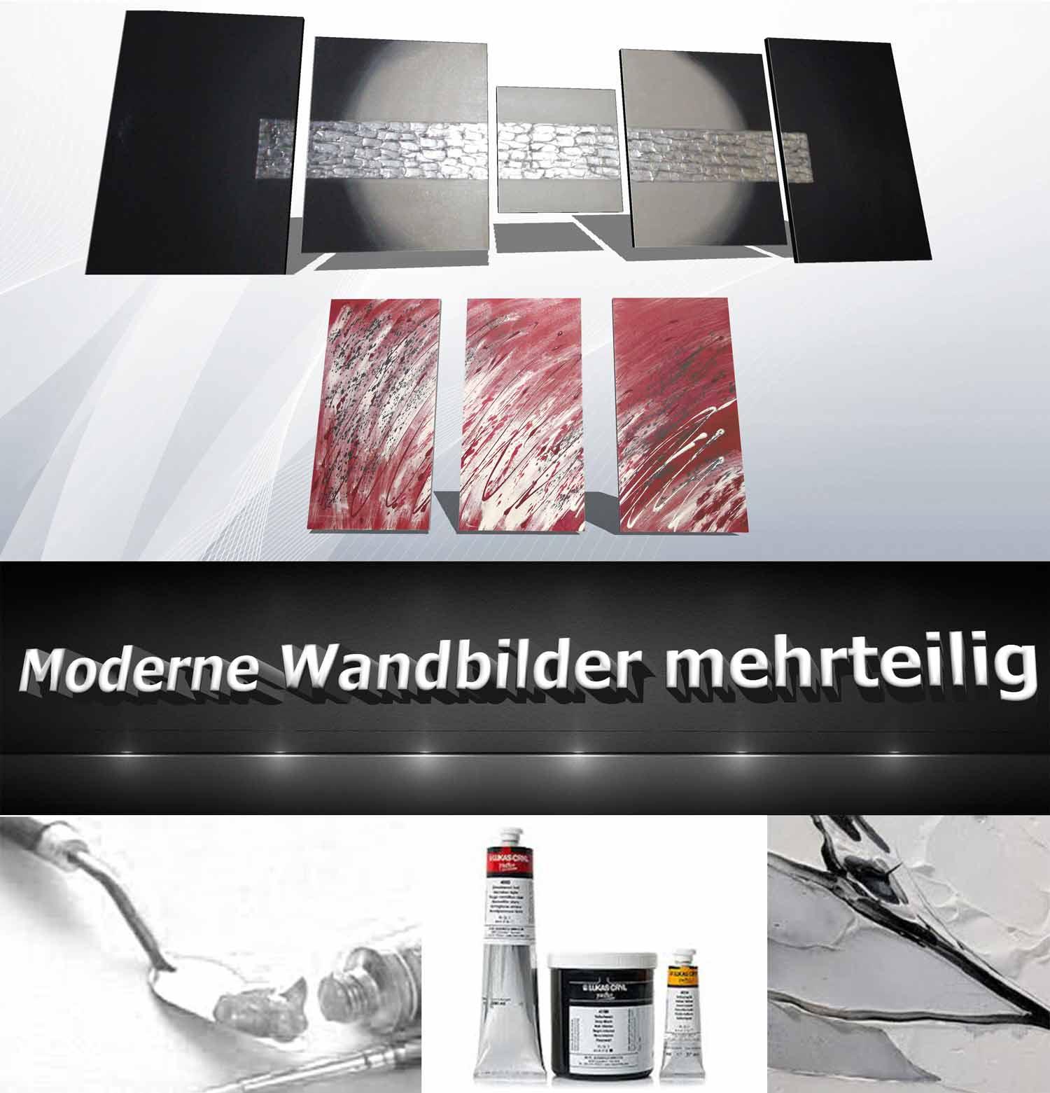 Moderne Wandbilder mehrteilge Wandbilder mehrteilig