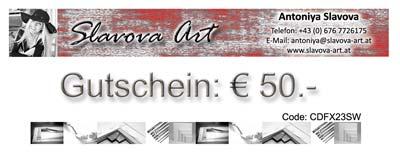 Wandbilder Gutschein abstrakte Wandbilder Slavova Art