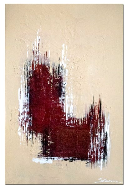 Bei dem Wandbilder modern Move handelt es sich um ein handgemaltes Original