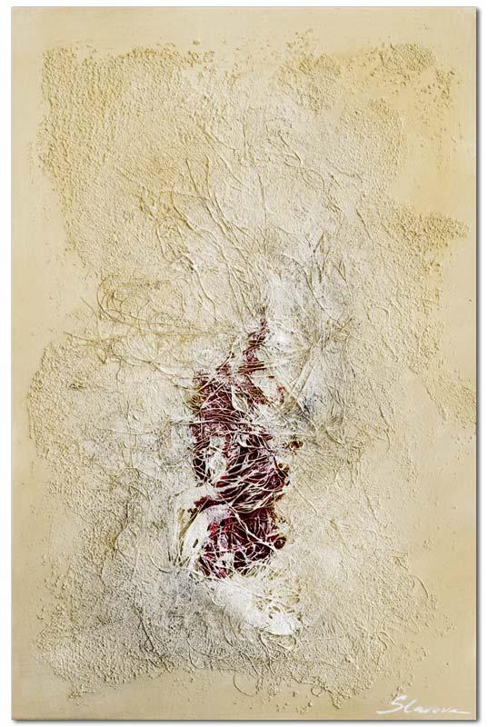 Bei Wandbilder modern Wounded handelt es sich um ein handgemaltes Wandbild