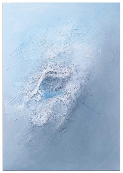 Wandbild Seide Slavova Art Acrylbild