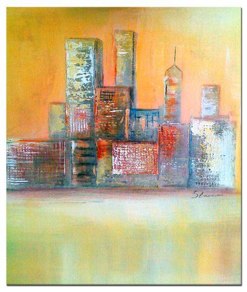 Acrylmalerei abstrakt Acrylbilder handgemalt