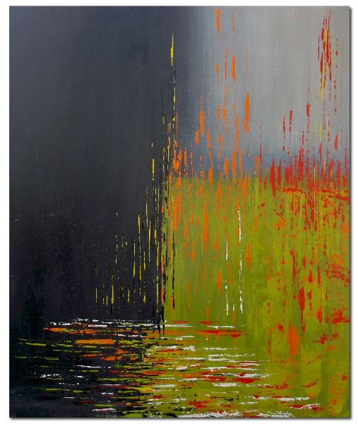 Moderne Bilder Acrylmalerei abstrakt