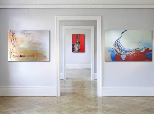 Wandbilder handgemalt von der Künstlerin