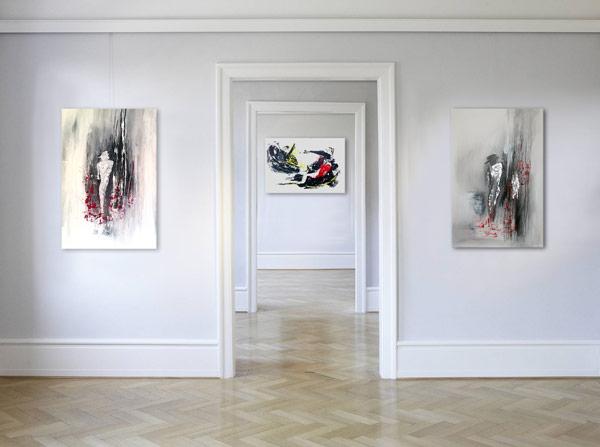 Handgemalte Leinwandbilder Wandbilder und Gemälde