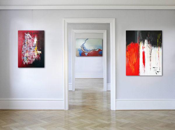Wandbilder Leinwandbilder online kaufen handgemalt von der Künstlerin