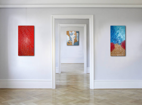 Wandbilder Leinwandbilder Gemälde handgemalt