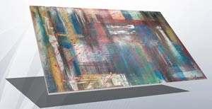 Wandbilder als moderne Kunst Bilder mit Acryl auf Keilrahmen im abstrakten Stil